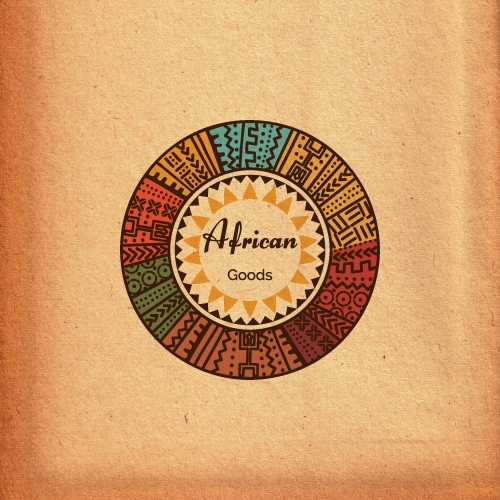 African Goods Logo for sale