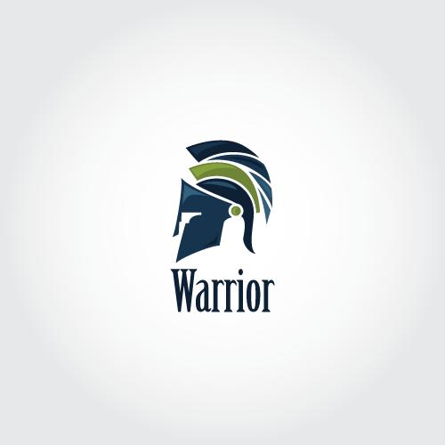 Warrior readymade logo desgin