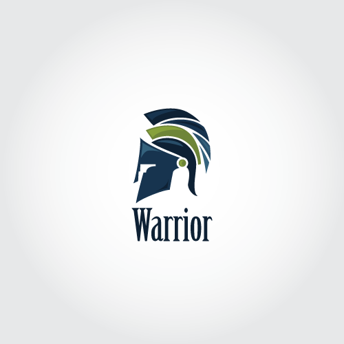 Warrior readymade logo desgin