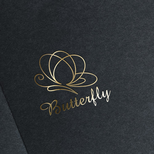 Butterfly Lines Logo for Sale