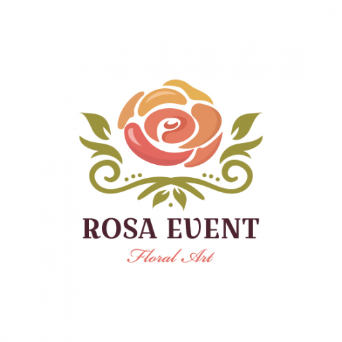 Rosa Event Logo For Sale