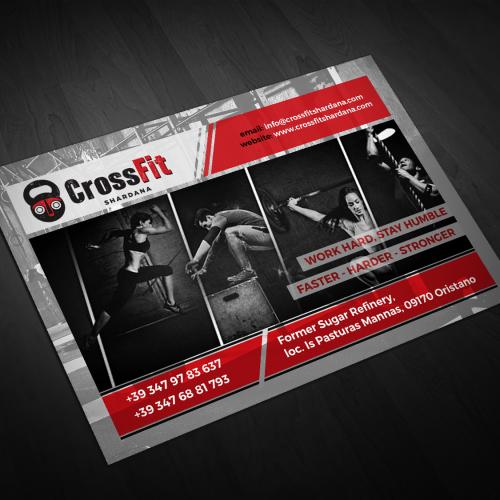 Crossfit Shardana Postcard