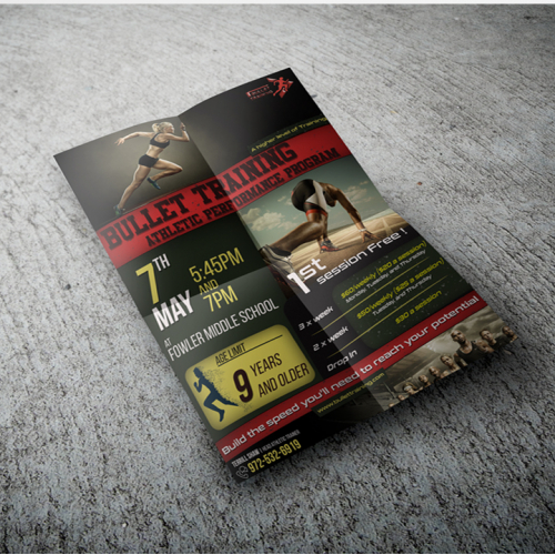 Fitness Training Center Promotional Flyer