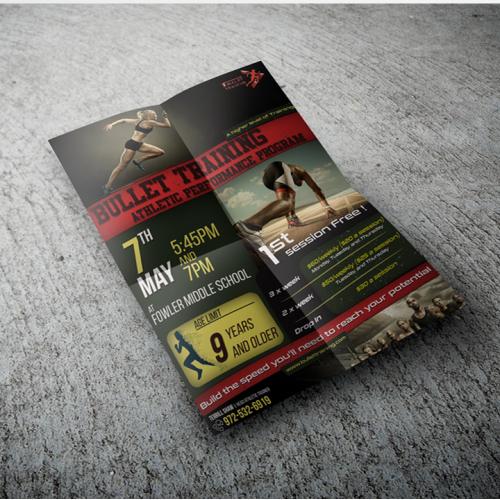 Fitness Training Center Promotional Flyer