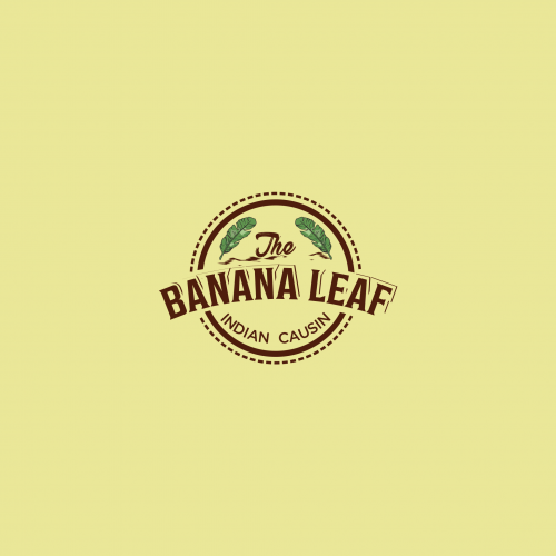 the banana leaf