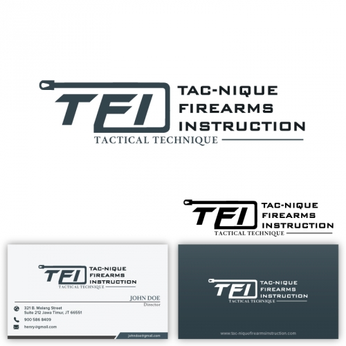 Logo with business card design