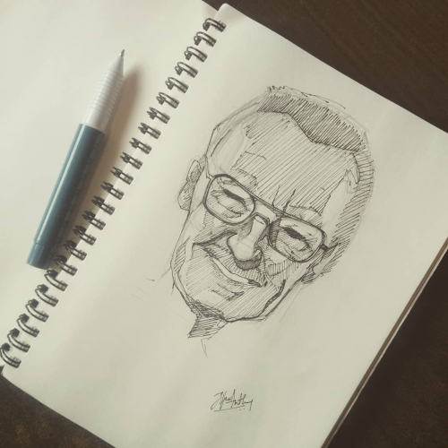 Stan Lee quicksketch