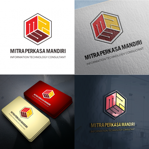 Iinformation Technology Consultant Logo Design