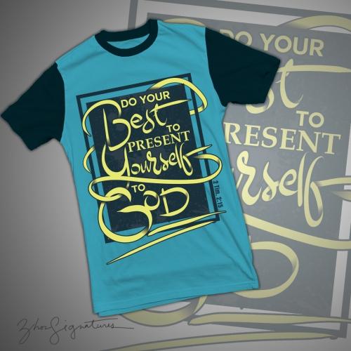 Christian-Themed Shirt Design