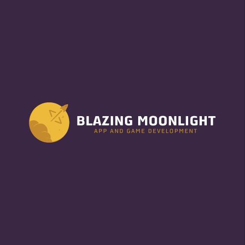 Blazing Moonlight | Logo design