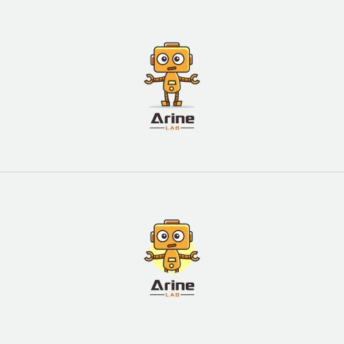 Logo Design - Arine Lab