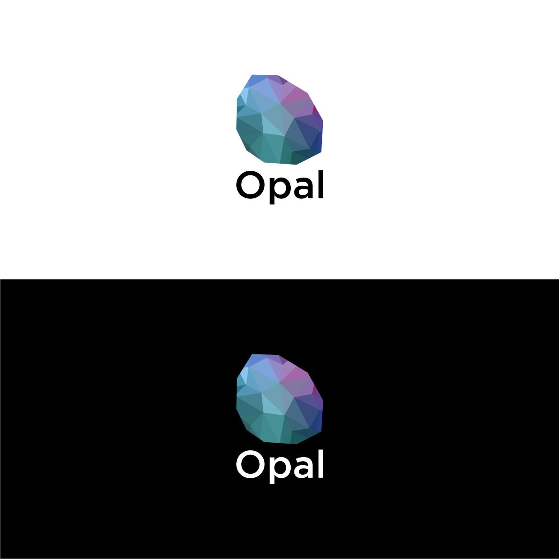Opal logo design