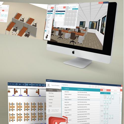 Office Planner app UX/UI