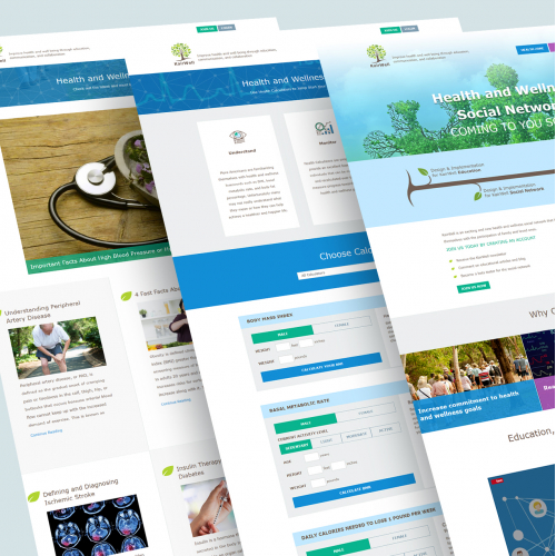 Health Social Network Website and app