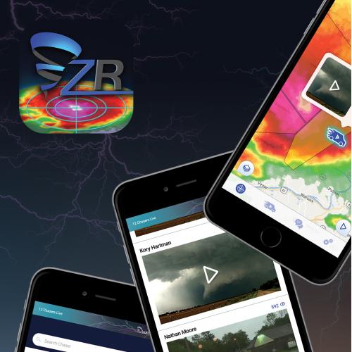 Weather mobile app design