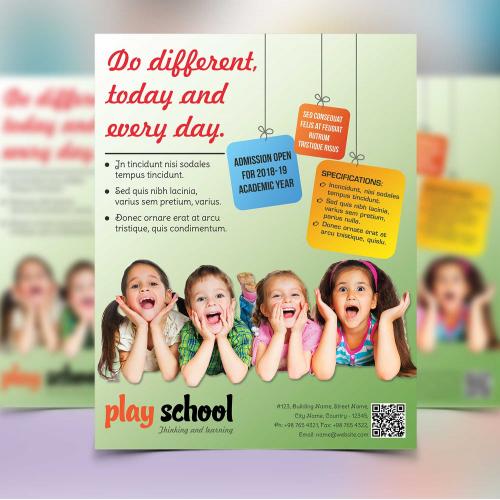 Play School Flyer