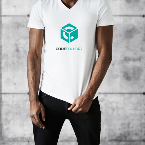 Logo and t shirt