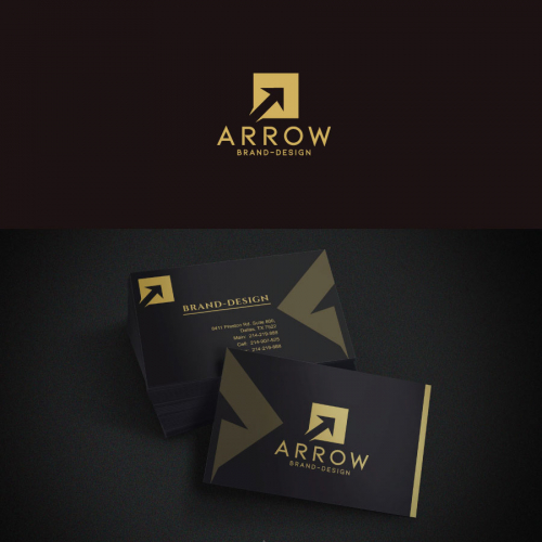 Logo and business card design .