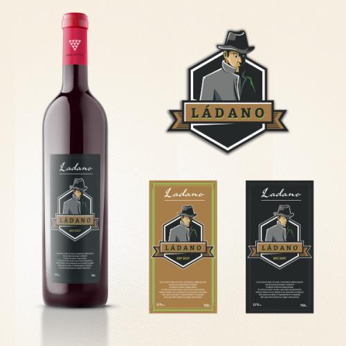 Ladano Label design