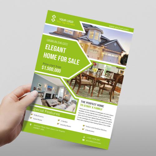 Flyer For Real Estate