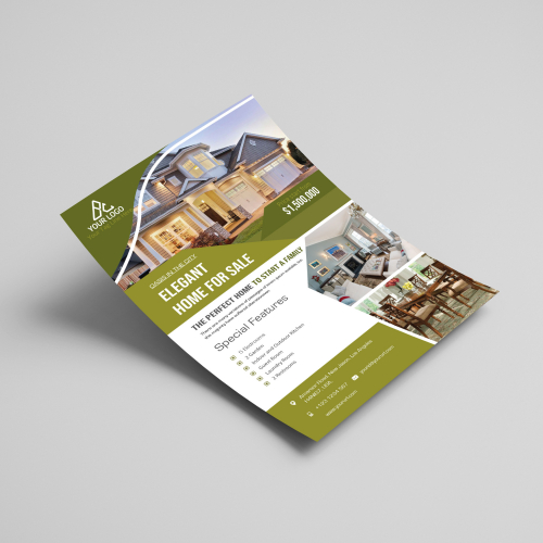 Flyer for Real Estate Business