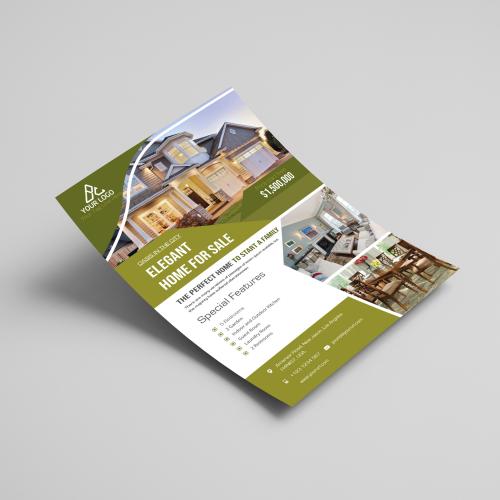 Flyer for Real Estate Business