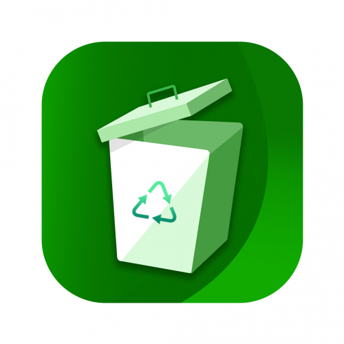 Recycle Bin app Icon design