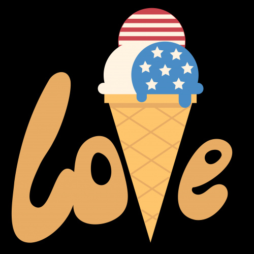 Love America ice cream
