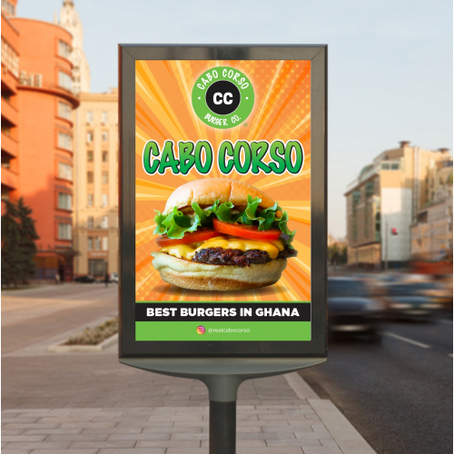 Billboard for Burger Company