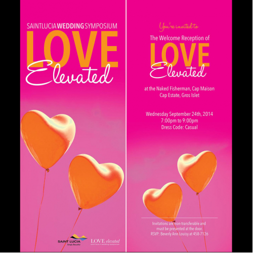 Wedding Symposium invitation flyer