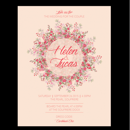 Wedding Symposium Invitation