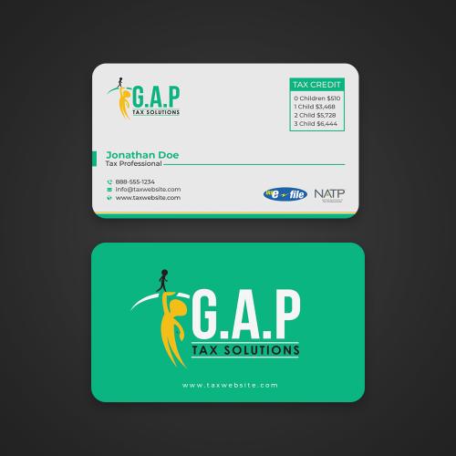 Gap business card