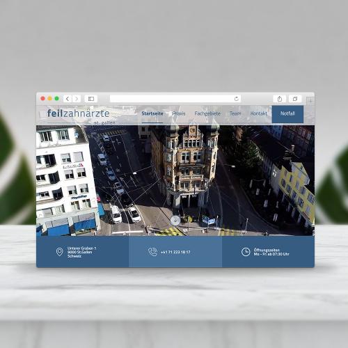 Feil.ch - Website Design