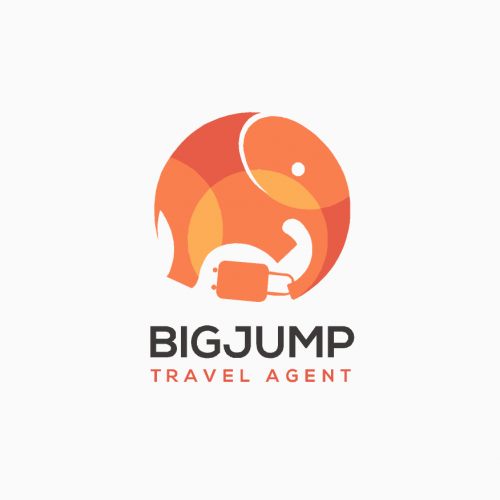 traveling agent logo concept