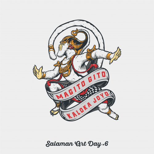 Anoman Ilustration for Salaman Art Day 6