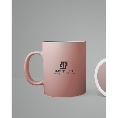 FINFIT logo with cup