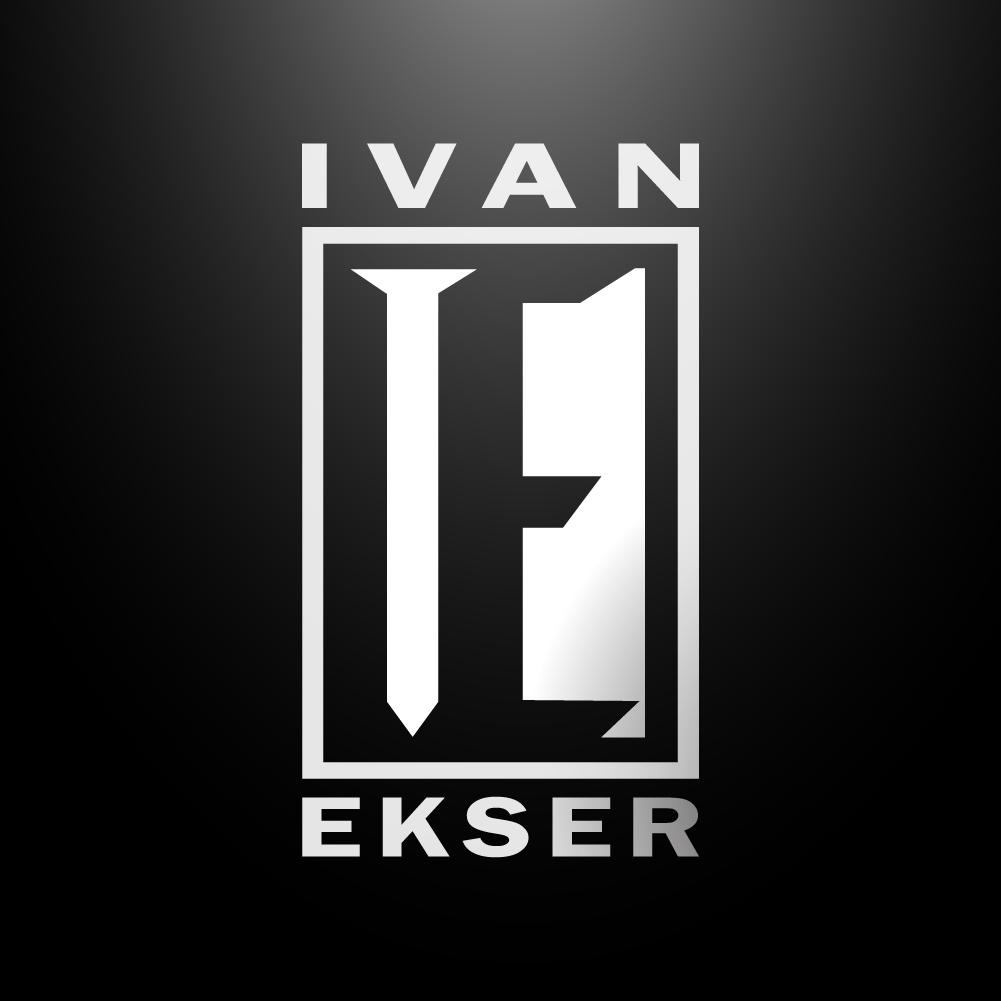 Logo for tattoo artist Ivan Ekser (Ivan Nail)