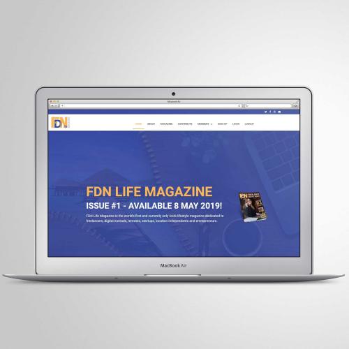 Magazine Website Design - Wordpress   Elementor Pro