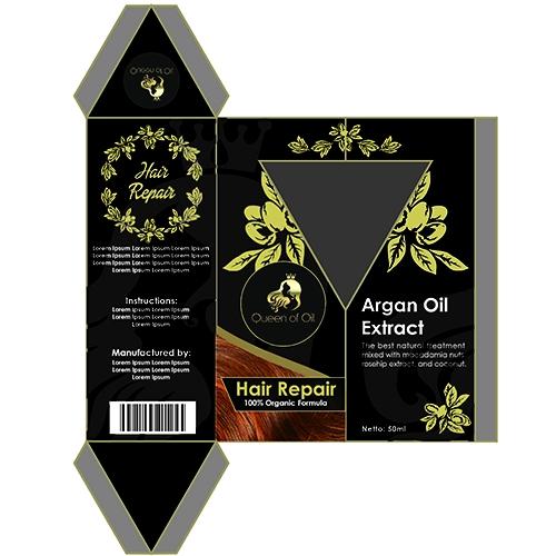 Hair Serum Packaging