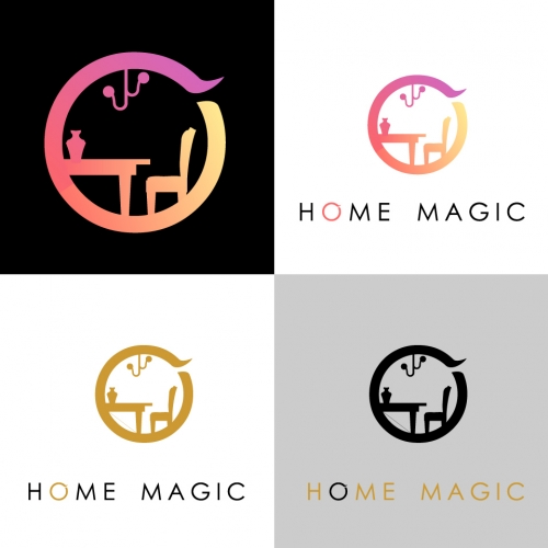 Logo Concept for Home Magic