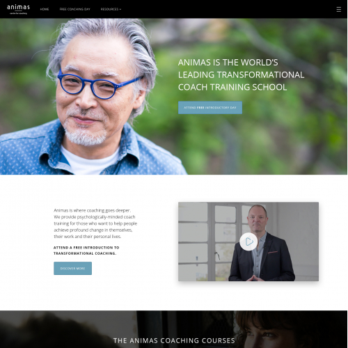 Coaching website design