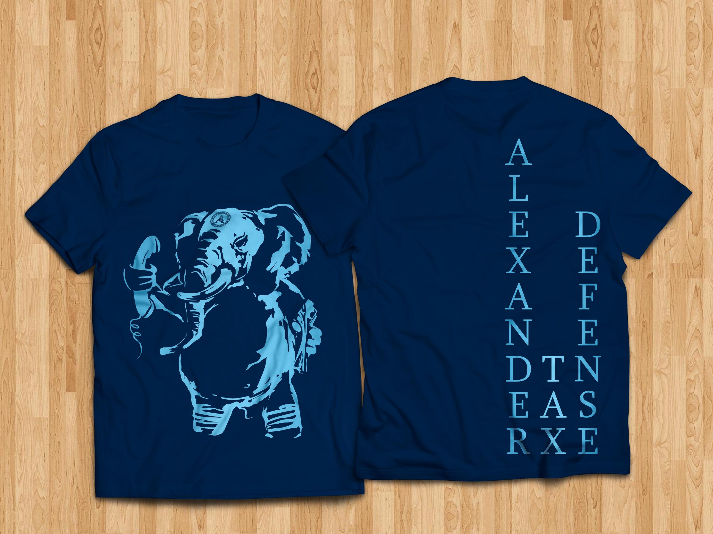T Shirt Alexander Tax Defense