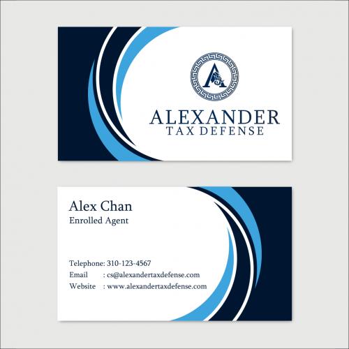 Business Card Alexander Tax Defense