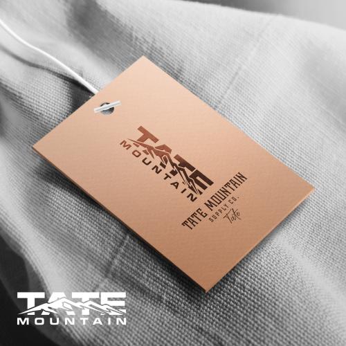 tate mountain lable design.