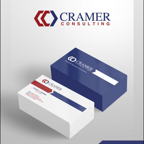 Cramer consulting logo and businesscard