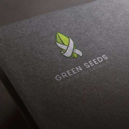 Logo for organic food company