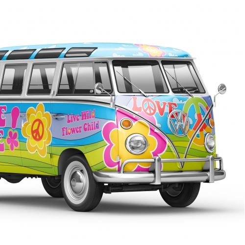 VW T1 promo vehicle wrap