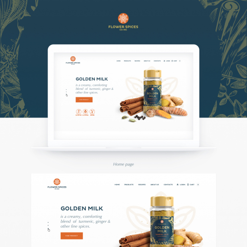 Landing Page for Flower Spiecies product