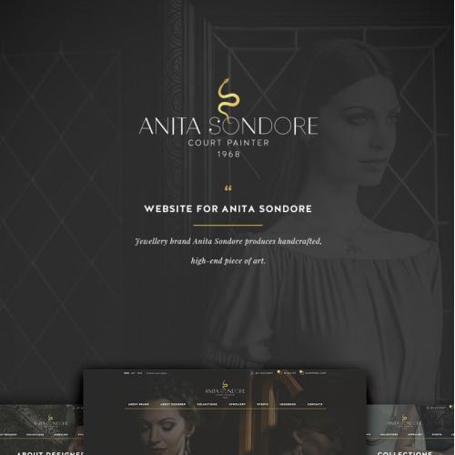 Web Design for jewelry designer