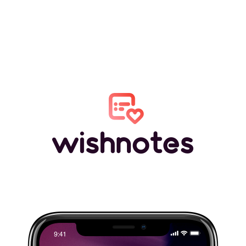 Internet Logo Design - WishNotes   App icon